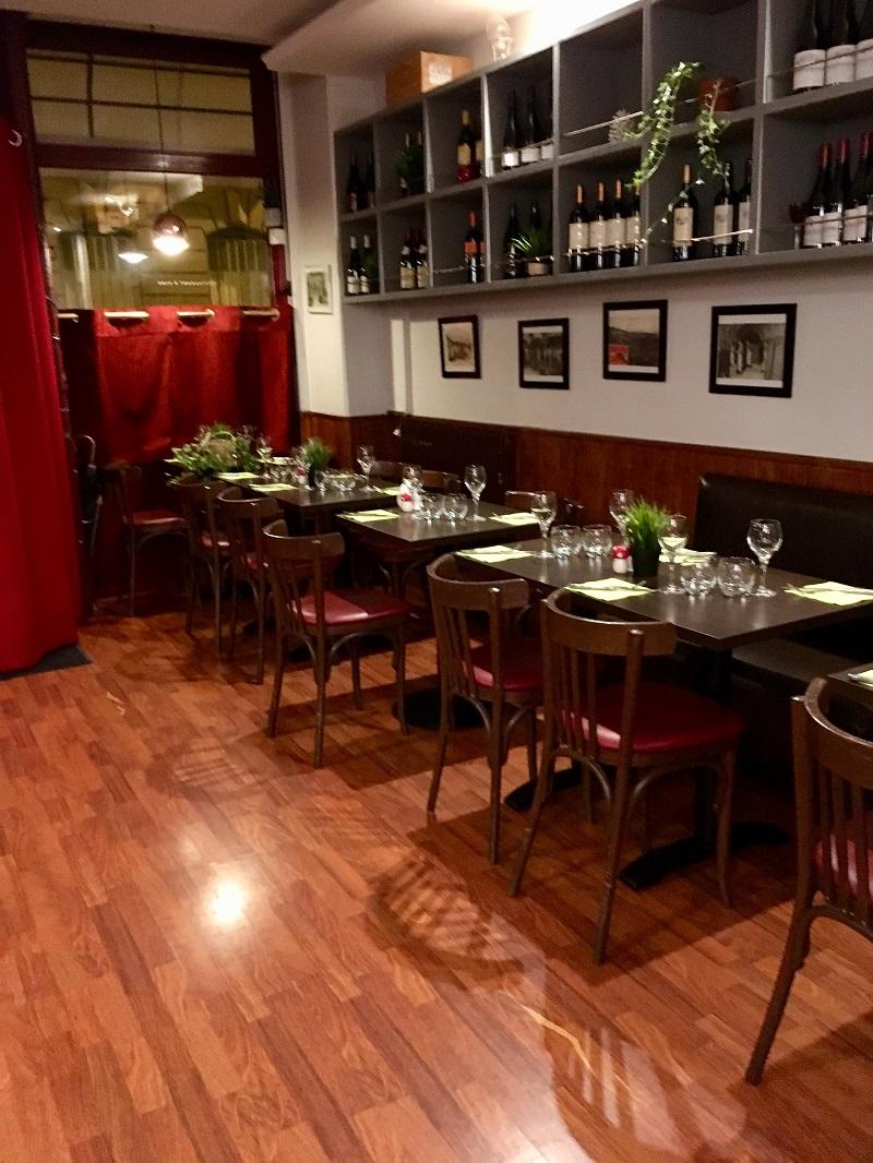 Restaurant L'ENVIGNE à PARIS